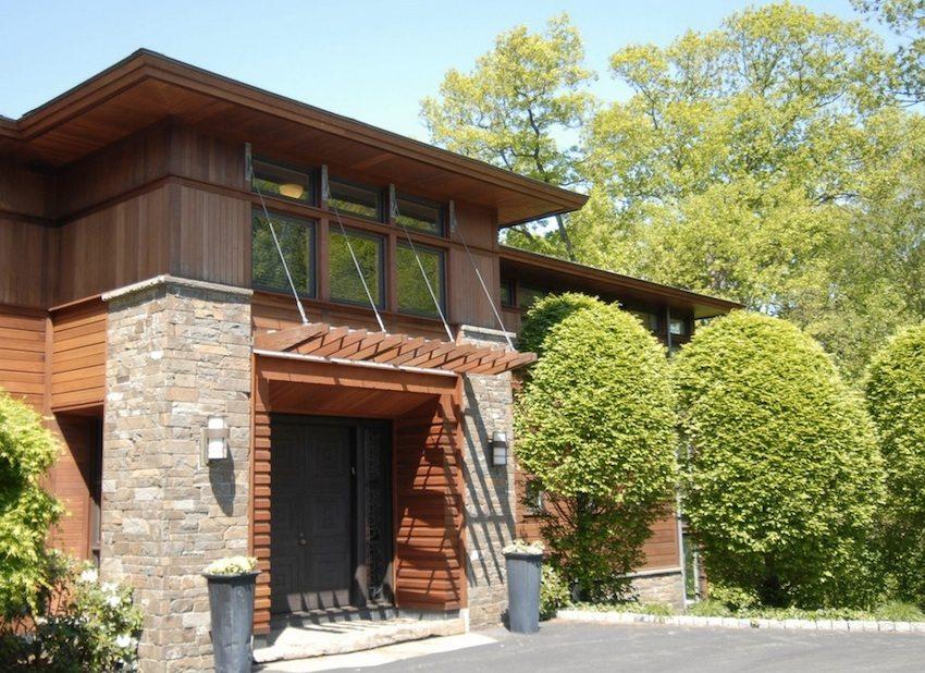 Современные фасадные панели визуально не отличаются от натуральных материалов