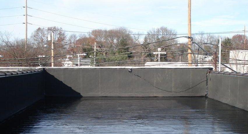 Битумная гидроизоляция плоской крыши