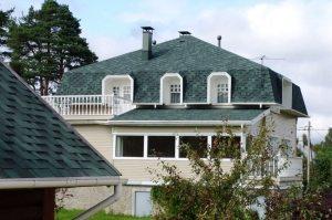 Мягкая кровля - прекрасный современный материал для обустройства крыши жилого дома