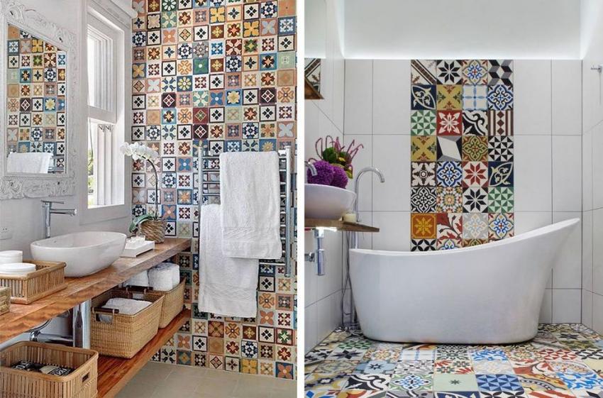 При оформлении ванной комнаты важно учитывать общую стилистику дома, чтобы интерьер выглядел гармонично