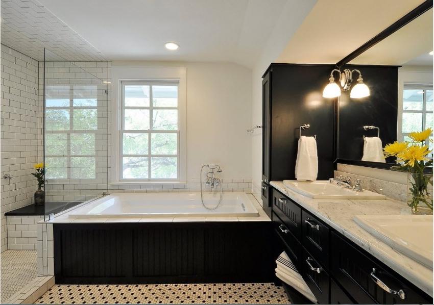Отделка ванны плиткой дизайн