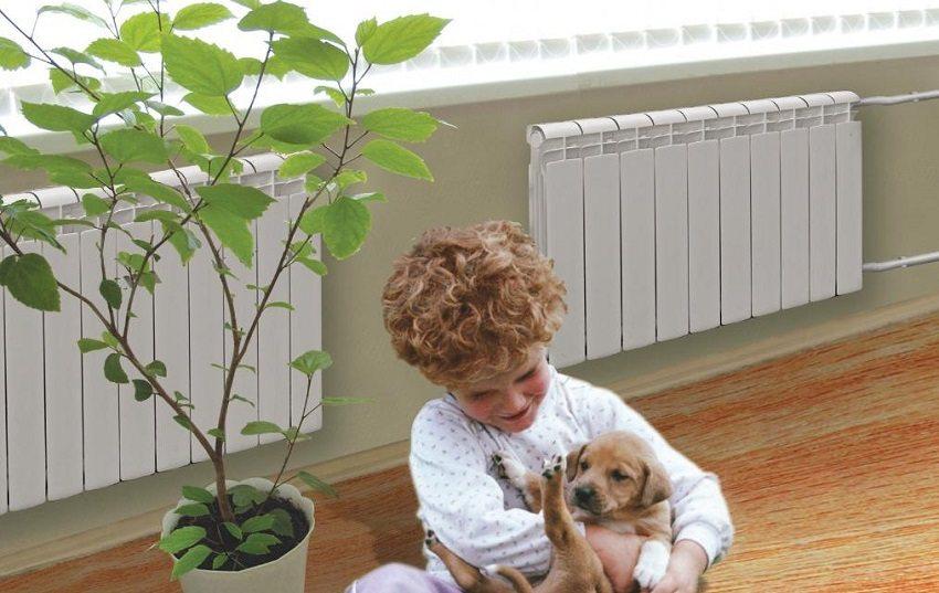 С биметаллическими радиаторами в доме тепло и уютно
