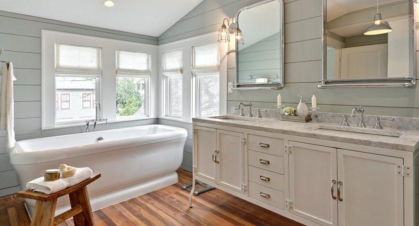 Панели ПВХ для ванной: как смонтировать самостоятельно