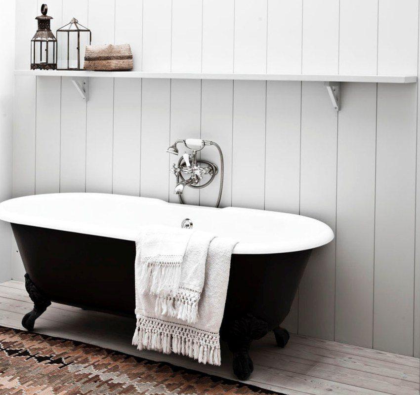 Установка пвх панелей в ванной своими руками