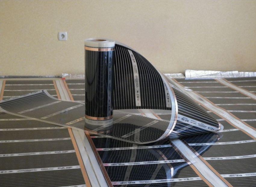 Инфракрасный пленочный теплый пол - современная система эффективного отопления в доме
