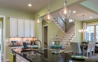 Точечные светильники для гипсокартонных потолков: стильный свет