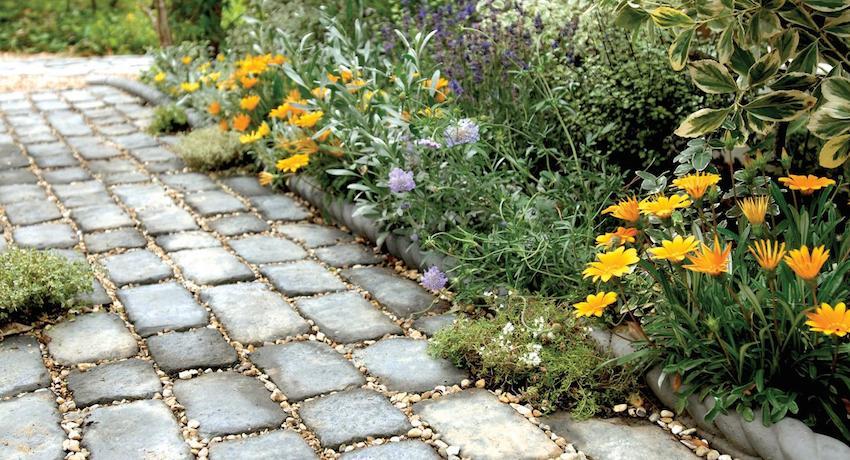 Тротуарная плитка с успехом имитирует брусчатку