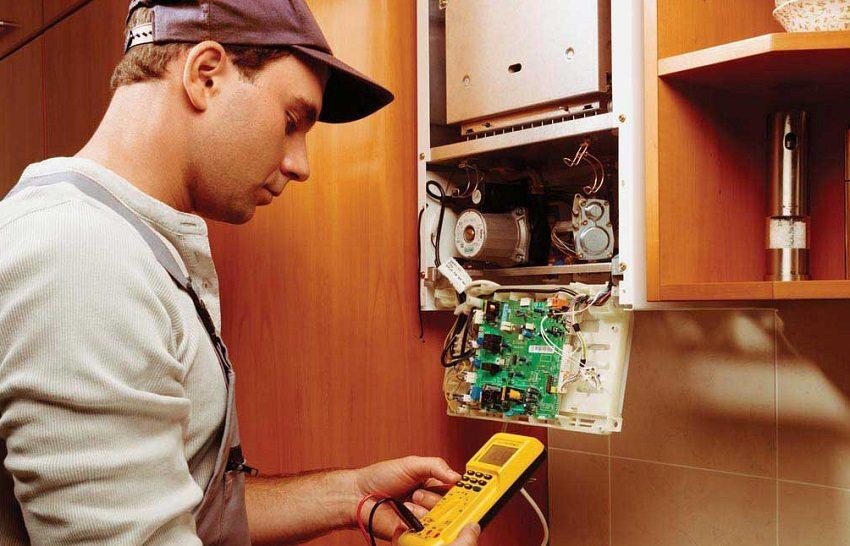 Обслуживание газовых котлов доверяйте только специалистам