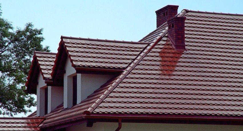 Цвет крыши из металлочерепицы можно выбрать на свой вкус