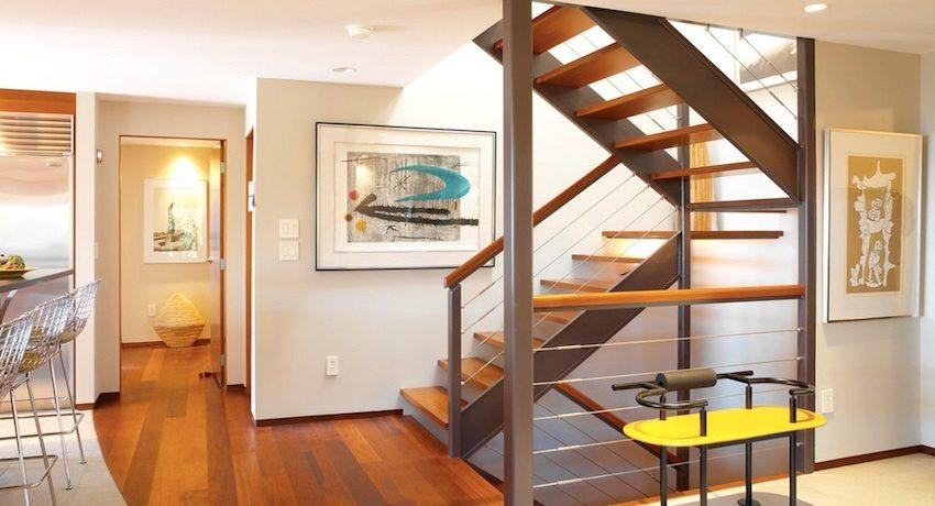 Деревянные лестницы в частном доме: проекты, фото