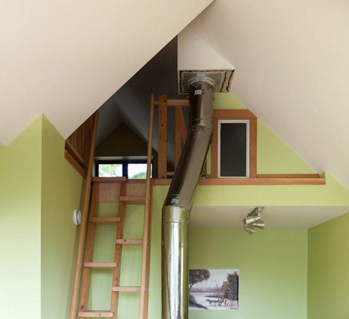 Внутренний металлический дымоход