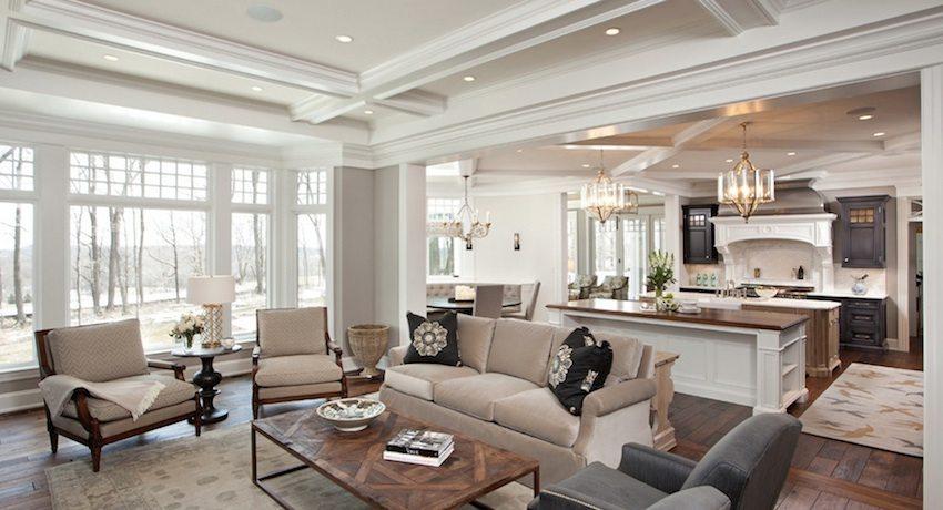 Подвесные потолки из гипсокартона можно встретить практически в каждом доме