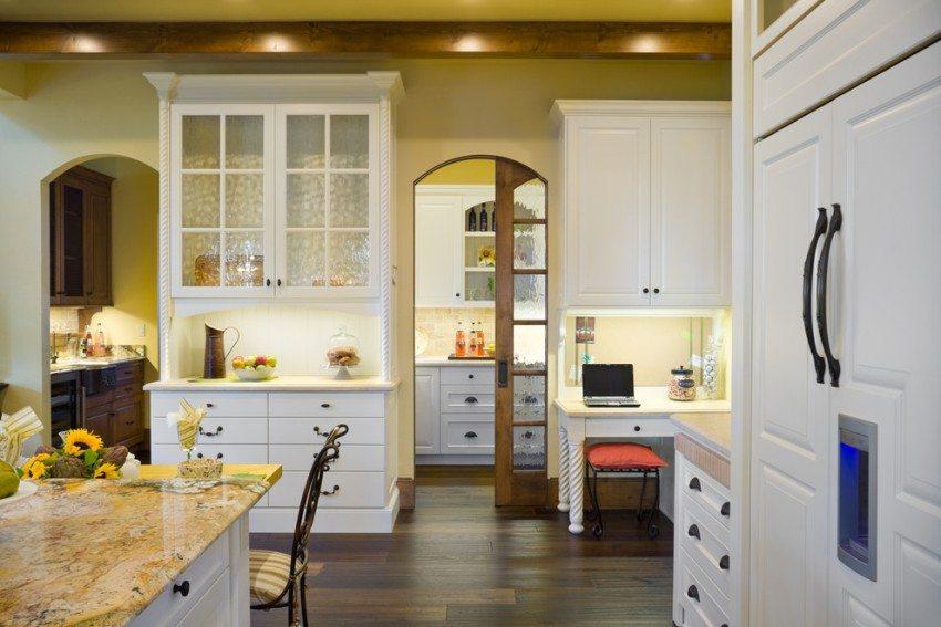 Арки из гипсокартона на кухне