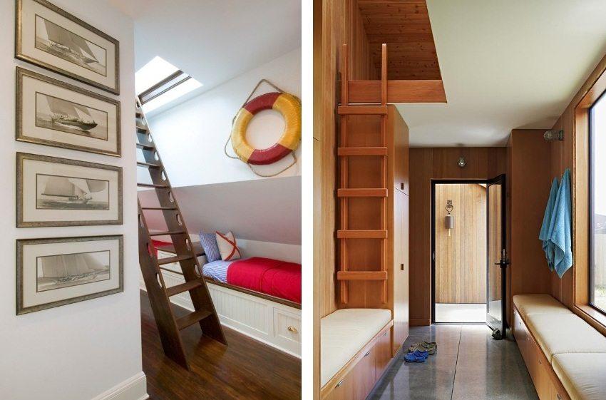 Примеры чердачных лестниц