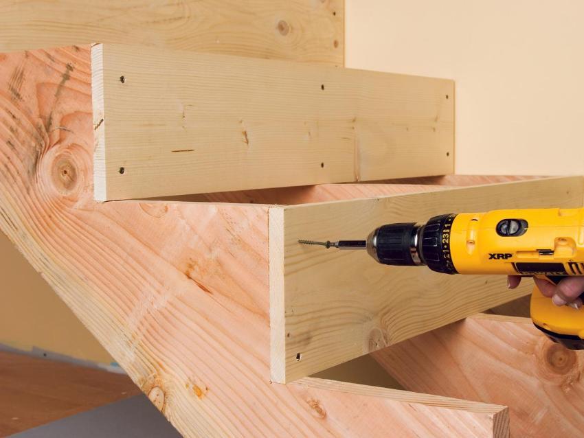 Монтаж деревянной лестницы своими руками