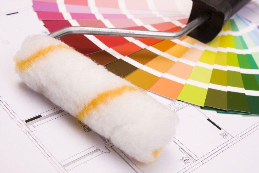 Цвет краски доступен в любом оттенке палитры RAL