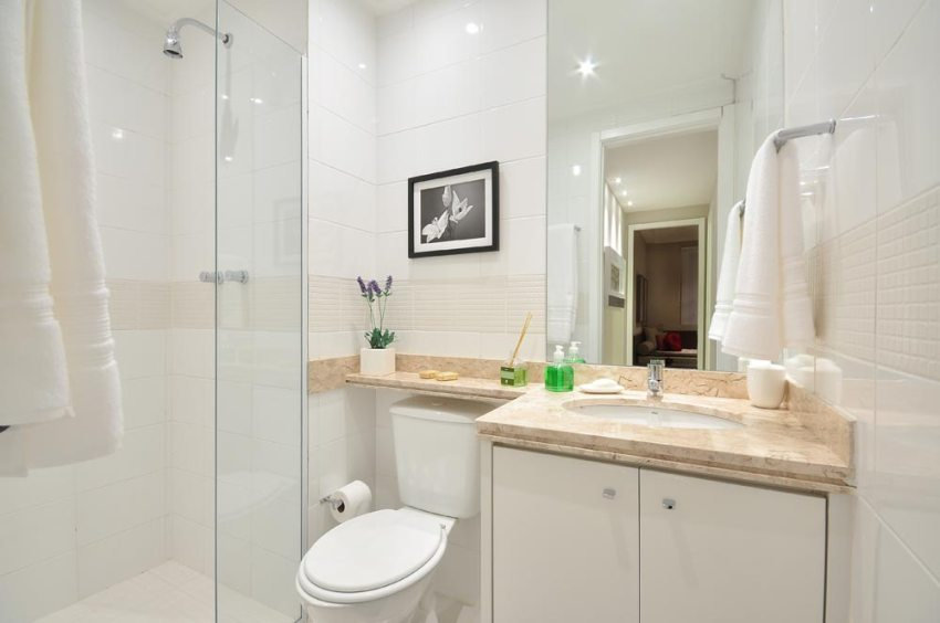 Фото ремонта ванной комнаты малых размеров: создаем ванную с умом