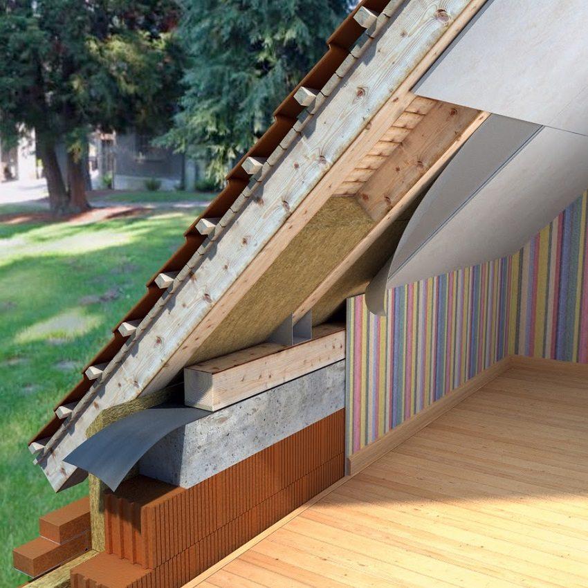 Утепление крыши мансарды позволяет создать дополнительное жилое пространство в доме