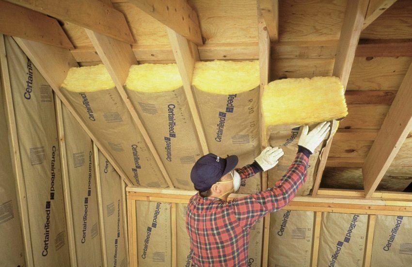Минеральная вата - лёгкий и недорогой утеплитель для крыши
