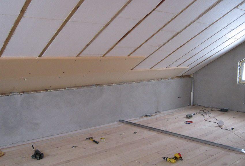 Пенопласт — прекрасный материал для теплоизоляции крыши