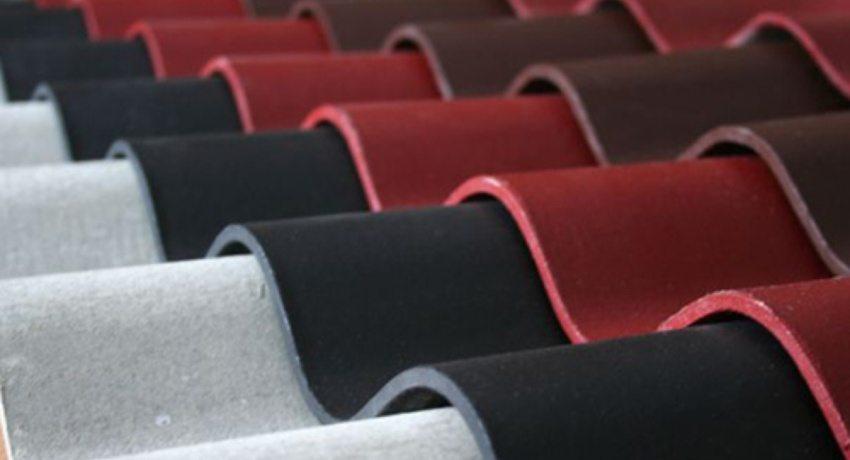 Современная промышленность выпускает шифер различных цветов
