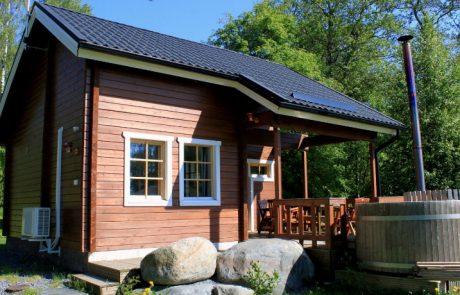 Бани из бруса: проекты деревянных построек с различной планировкой