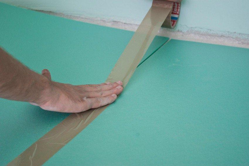 Укладка линолеума своими руками подложка