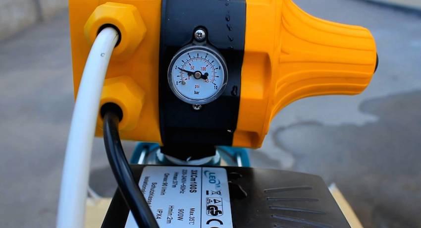 Правила регулировки реле давления воды для насоса