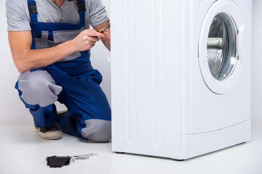Подключение стиралки к канализации