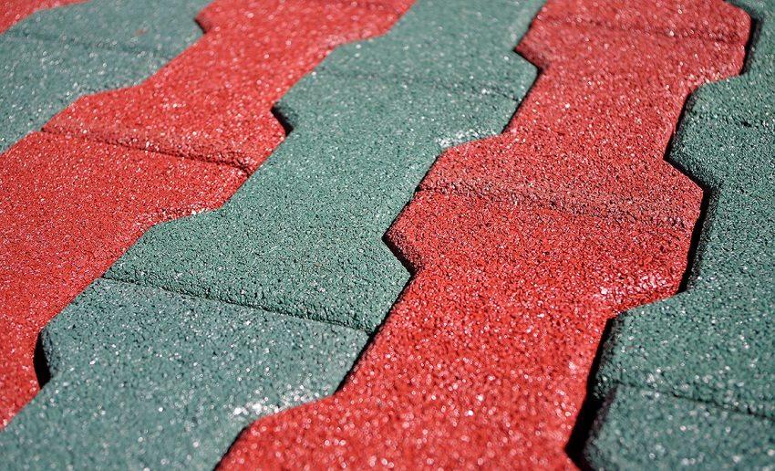 Плитка нестандартной геометрической формы