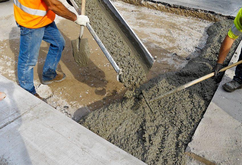 Строителям важно знать вес бетона