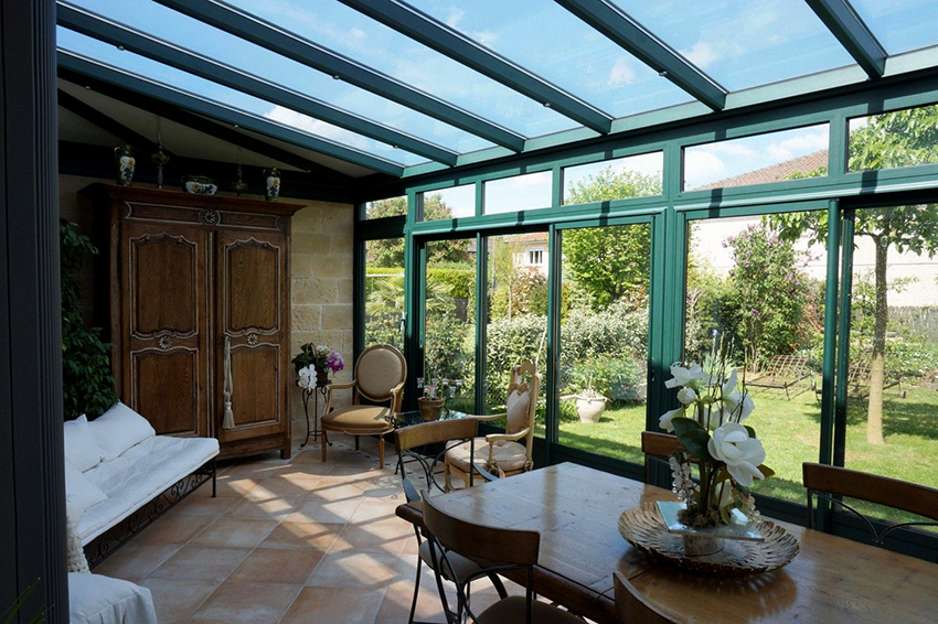 Веранды в стиле прованс хорошо подходят для дачных домиков