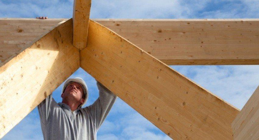 Устройство стропильной системы двухскатной крыши своими руками
