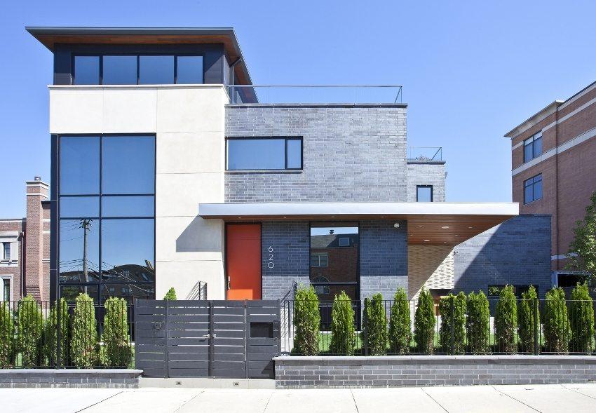 Клинкерный кирпич - практичное и современное решение для оформления фасада здания