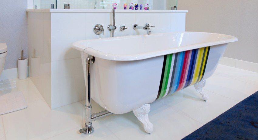 Акриловый вкладыш - быстрый и доступный способ обновить старую ванну