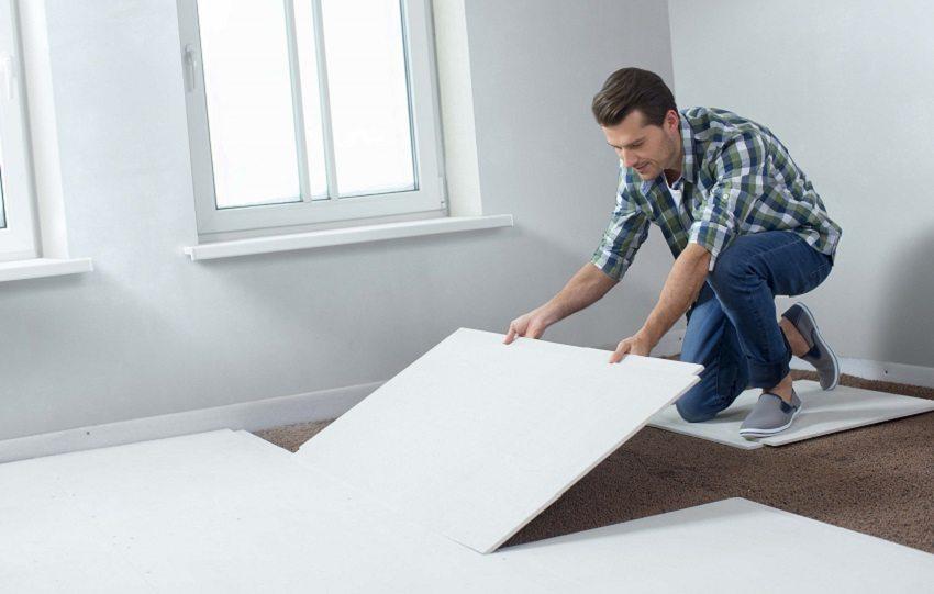 Сухая стяжка больше всего подходит для использования в квартирах