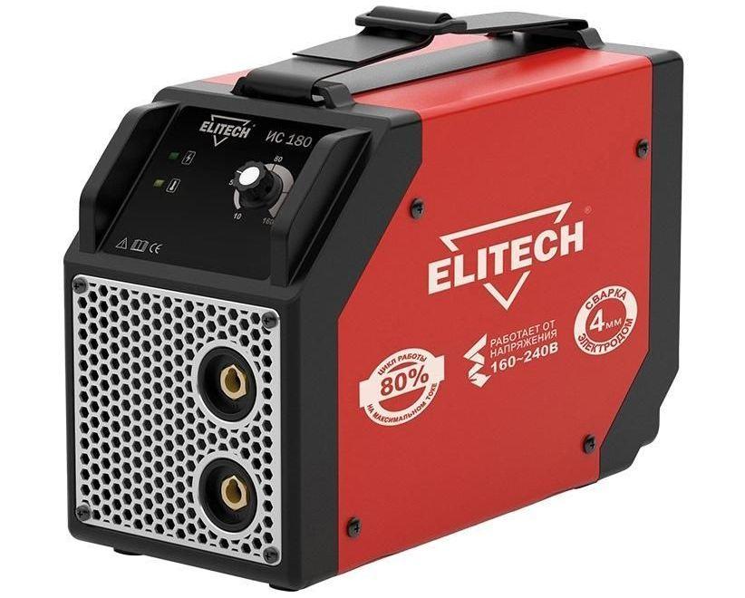 Компактный сварочный аппарат ELITECH ИС 180