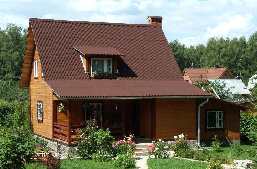 Крыша из ондулина - практичная, долговечная и эстетически привлекательная
