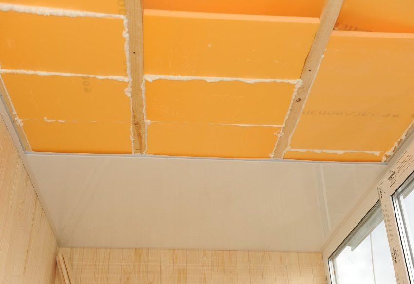 Пеноплекс широко применяется для утепления балконов и лоджий