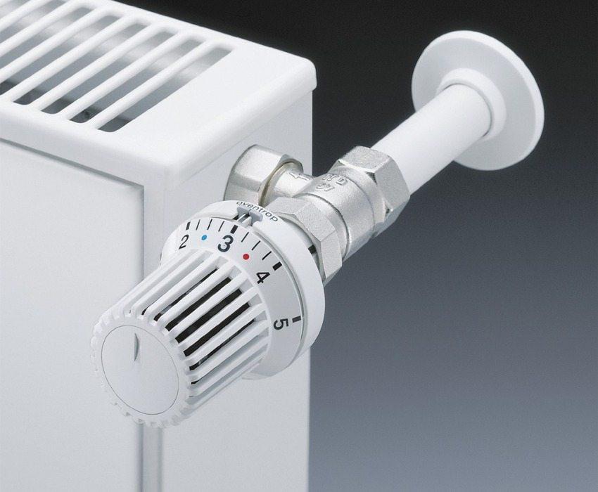 Автоматический терморегулятор для радиатора отопления