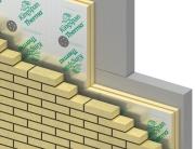 Устройство вентилируемого фасада с применением экструдированного пенополистирола