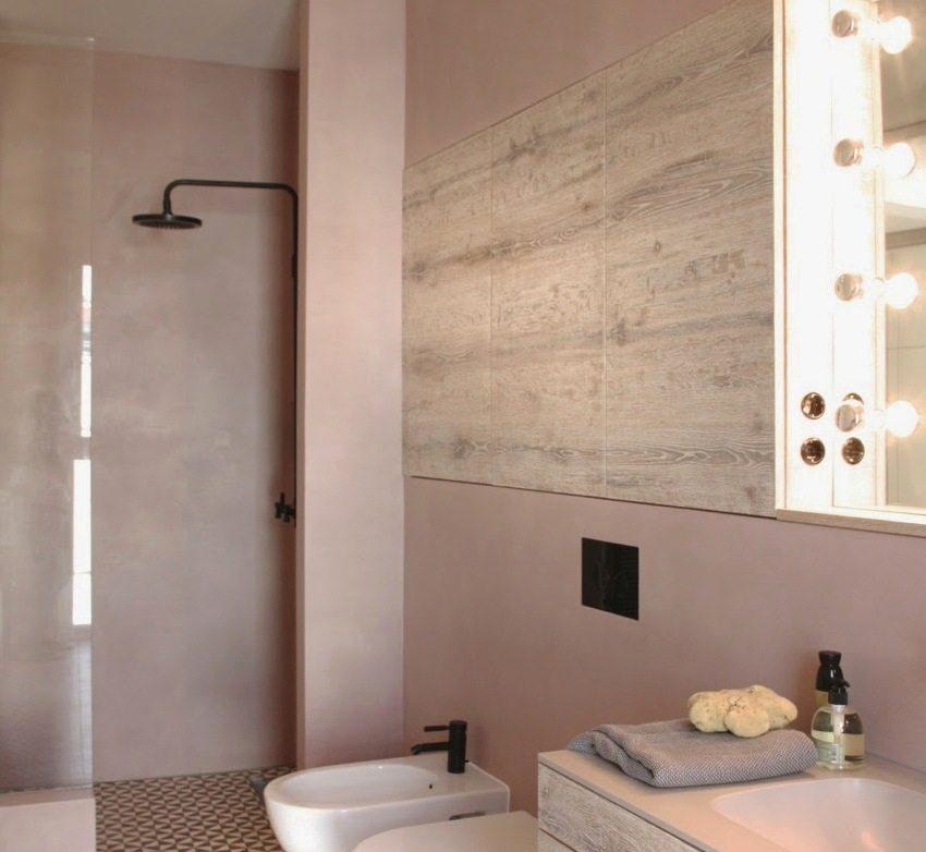 Водостойкую штукатурку для декора стен можно использовать для отделки ванной комнаты