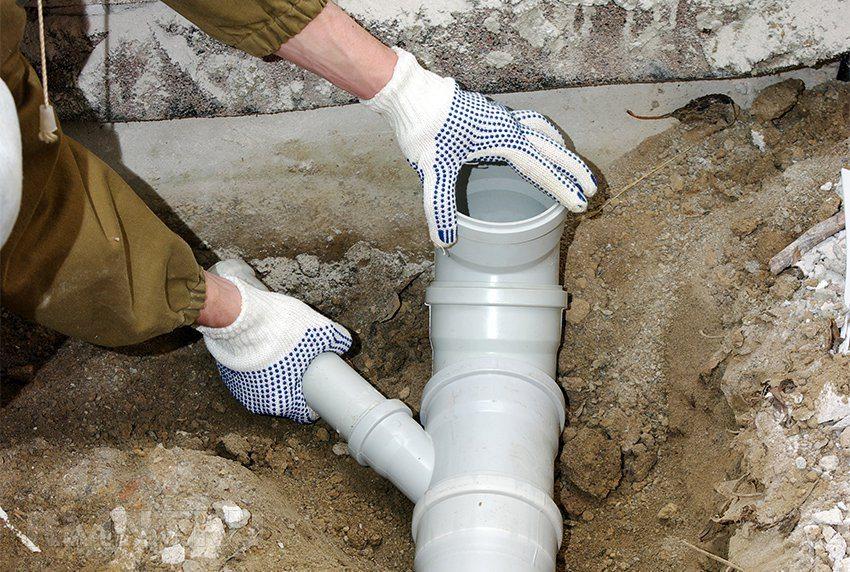 Монтаж канализации частного дома своими руками
