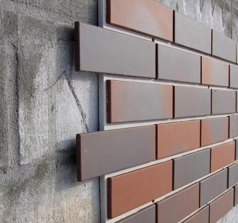 Декоративная панель для облицовки, имитирующая кирпичную кладку