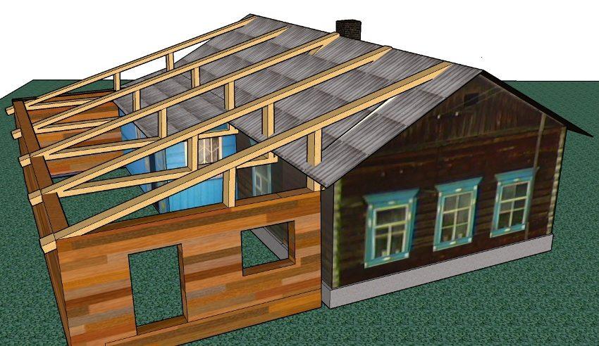 Строительство пристроек к дому