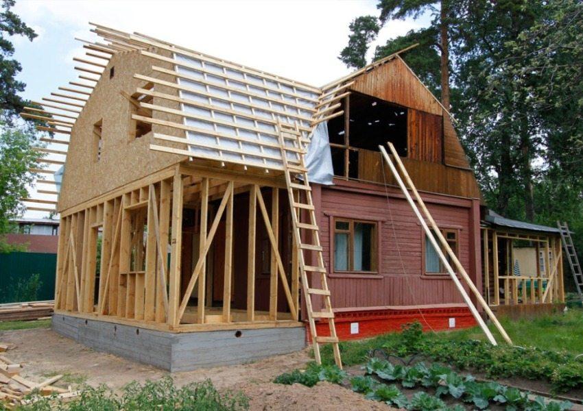Пристройка может увеличить жилую площадь вдвое