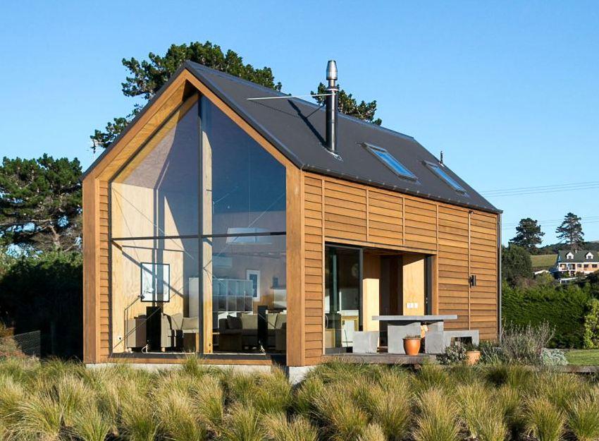 Современная конструкция дачного дома