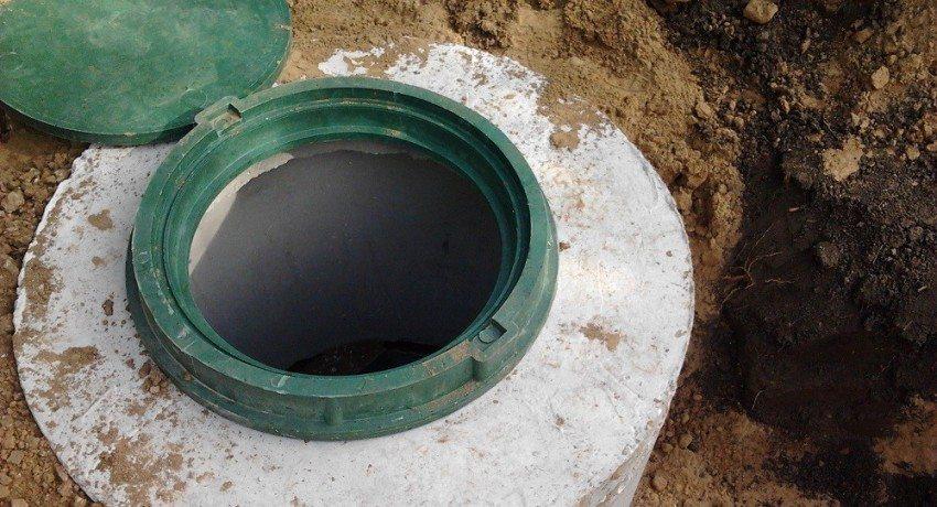 Септик из бетонных колец своими руками, схема строительства