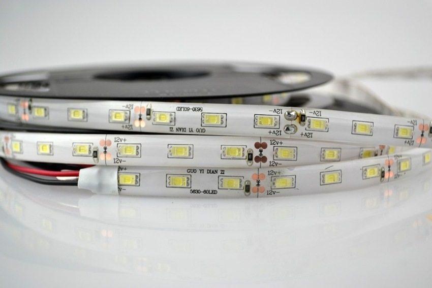 Гибкая светодиодная лента продается в бобинах