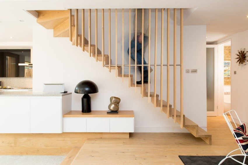Оригинальная конструкция лестницы
